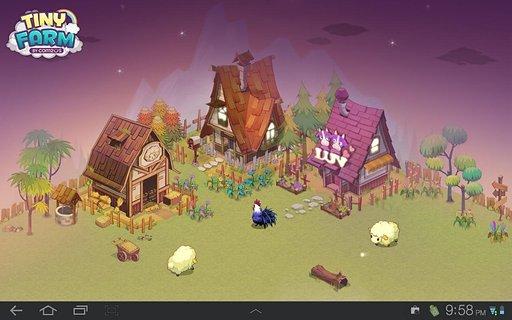 主题画面设置成迷你农场壁纸,让可爱的小动物们挂满你的手机屏幕哦~!