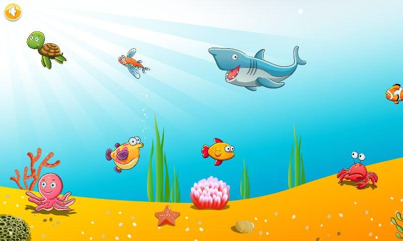 让宝宝在爸爸妈妈的带领下,遨游在绚丽的海底世界,认识各种可爱的海洋