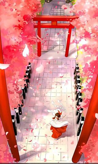 cc动态壁纸-博丽神社