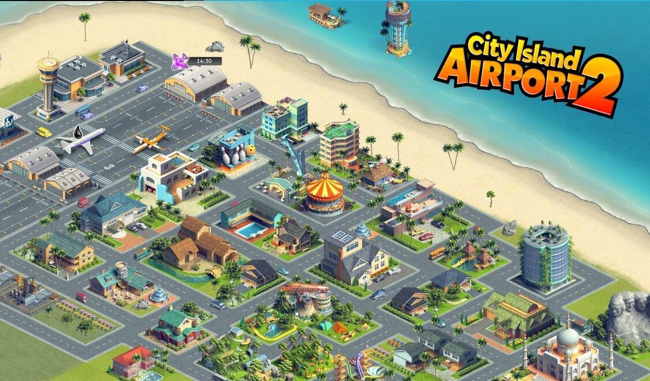 《城市岛屿:机场2 City Island: Airport 2》是一款模拟经营游戏,是《城市岛屿:机场》的续作。建造并管理属于你自已的机场城市,成为岛上最好的航空大亨。 建造一个城镇和机场,把这个充满异国风情的天堂变为旅游圣岛。游戏画面精美漂亮! 这款城市游戏通常被拿来与模拟城市一类的建造游戏作比较,在这款免费有趣的游戏中开怀畅玩吧! 你的主要目标是进一步建造你的城镇和机场,让其成为一个拥有能接待众多游客的大型机场的闪耀城市。通过建造你的城市、管理离港和抵达航班、建造游客景点、应对机场的繁琐事务及航班管
