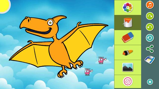 恐龙 图片上色游戏 - 海马苹果助手
